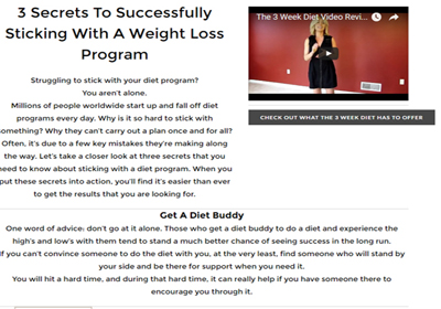 Does visalus work for weight loss